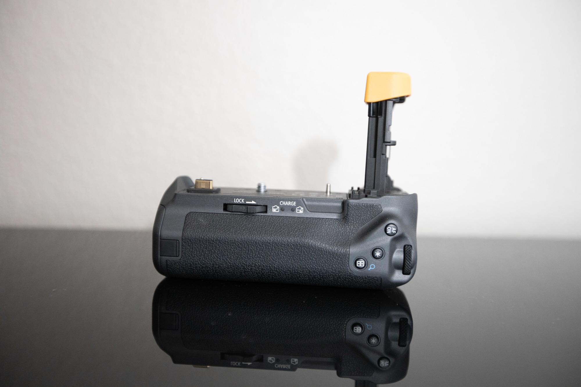 canon bg e3 battery grip instructions