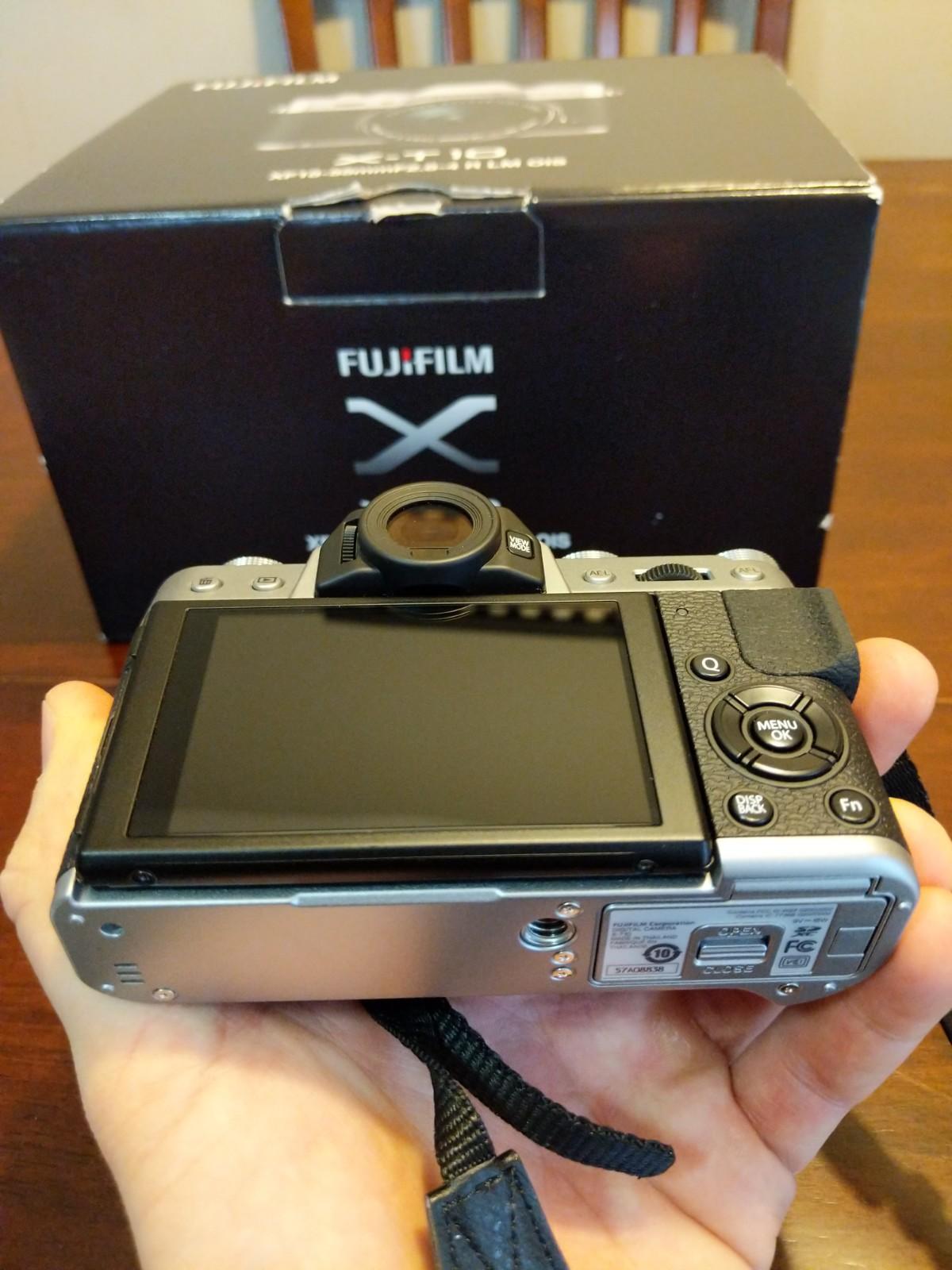 Sold Fuji X T10 Body Silver Mint In Box Fm Forums Screen Guard Fujifilm Xt10 Apr 25