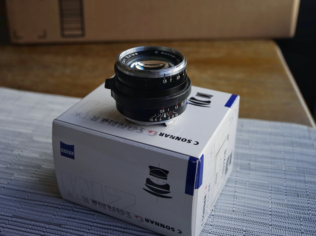 Sold: Zeiss 50 Sonnar 1 5 ZM $700 Leica Minilux 40 2 4 - FM Forums