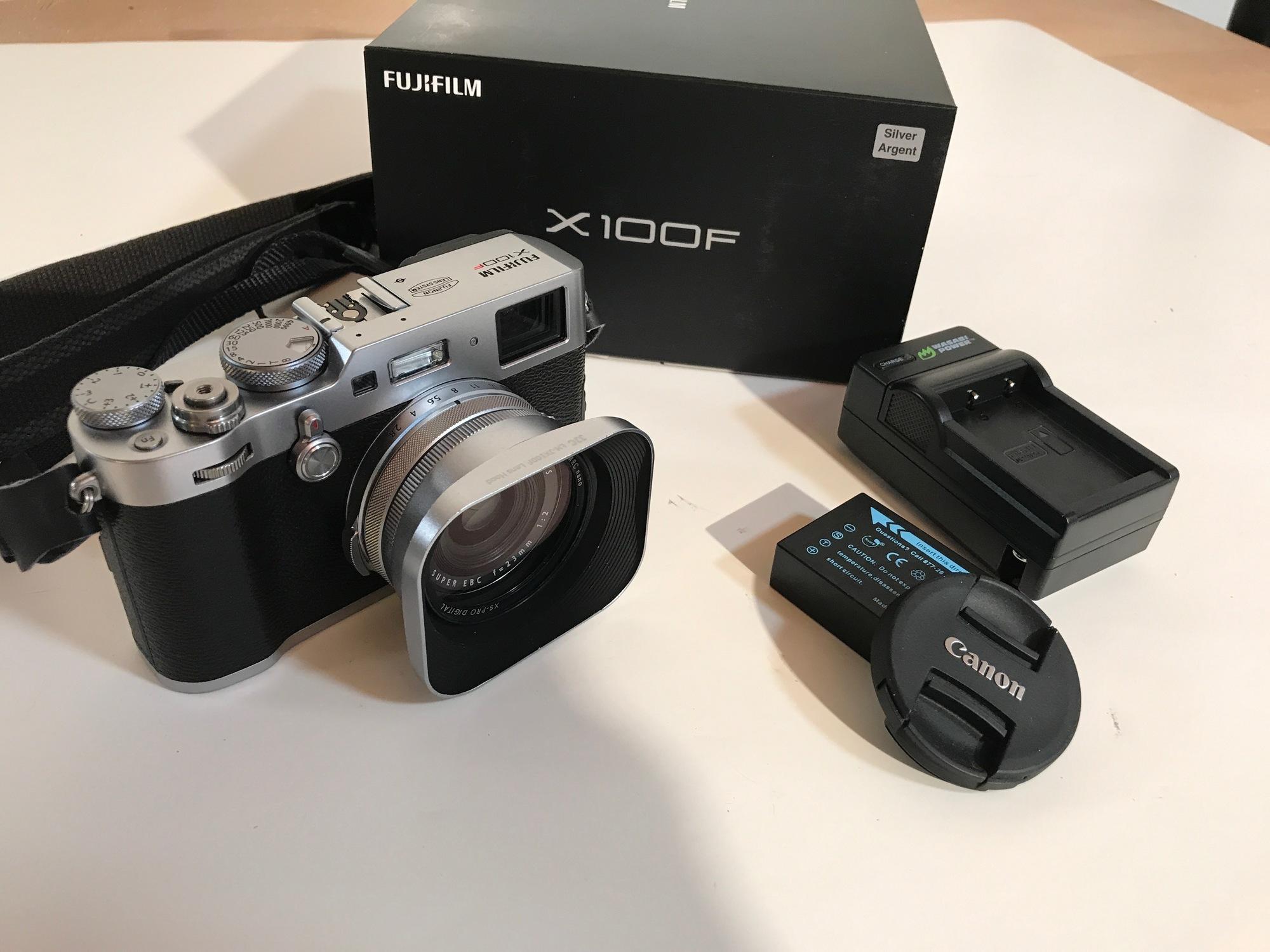 Sold: Fuji X100f Silver Loaded 400 clicks - FM Forums