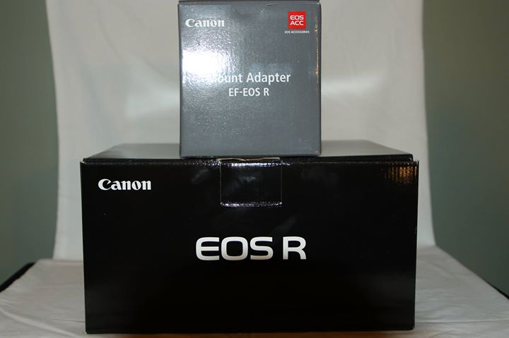 Sold: BNIB Canon EOS R with Adapter   - FM Forums