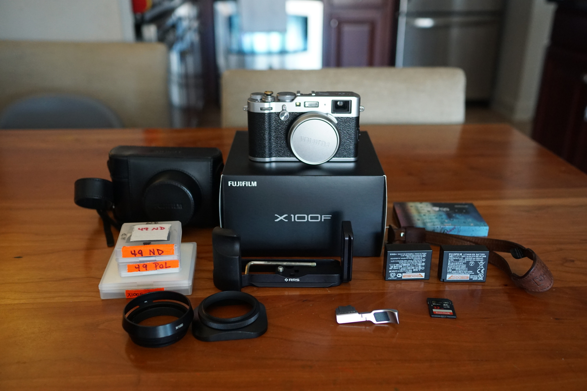 Sold: Fuji X100F (silver) w/ Top-quality Accessories - FM Forums