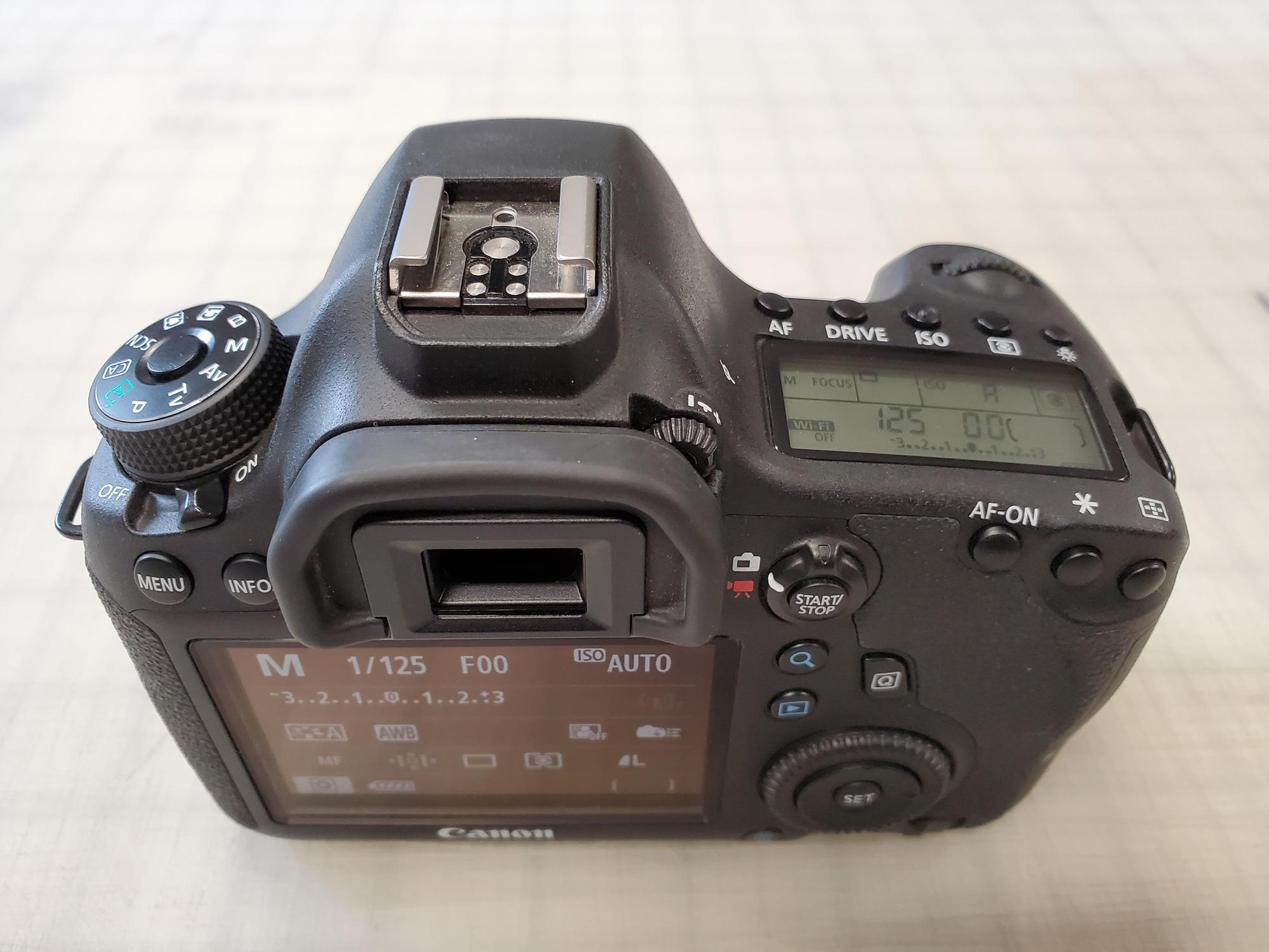 Canon eos m50 shutter count