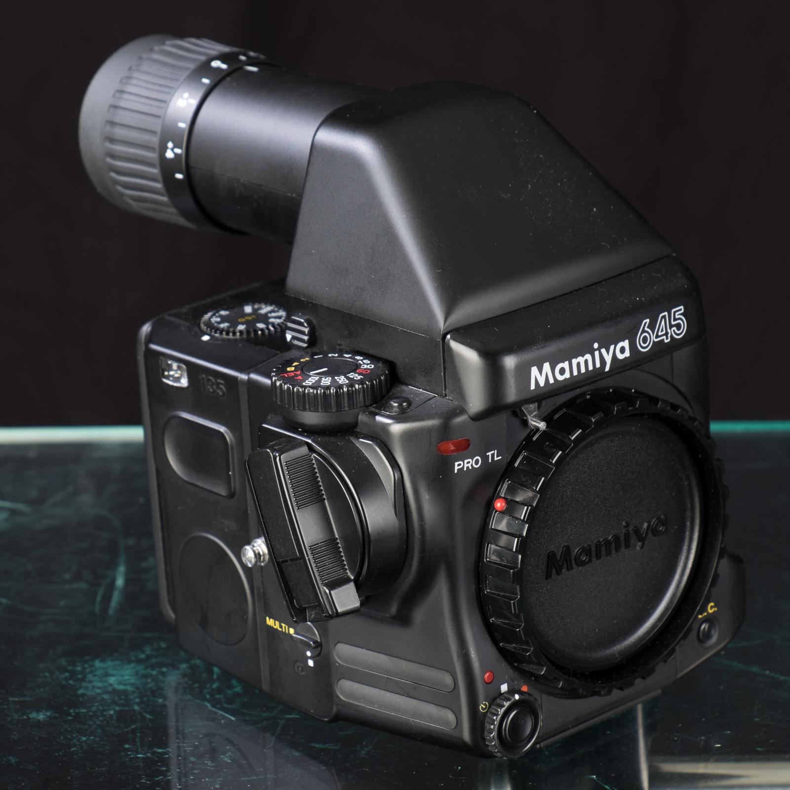 Withdrawn: Reduced! Mamiya 645 Pro TL body, 35mm back, FK402