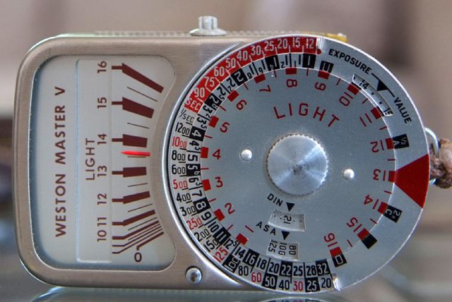 So i bought a Light Meter - FM Forums