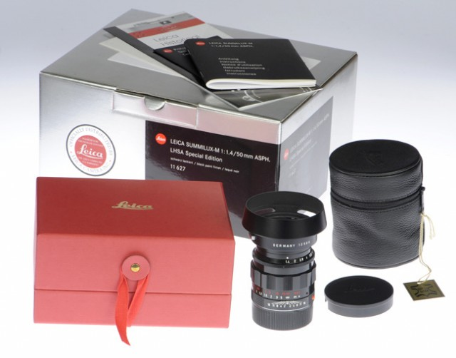 Leica Summilux 50mm Asph Lhsa Special Edition