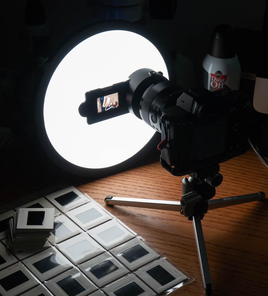 Digitizing Slides - Nikon ES-2 on Sony 50 Macro - FM Forums