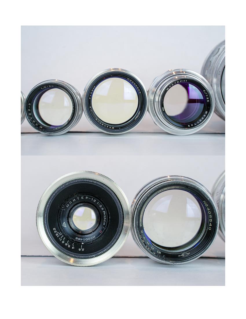 FS: Sony 55 1 8, Sony 28-70, rare Russian lens set, German