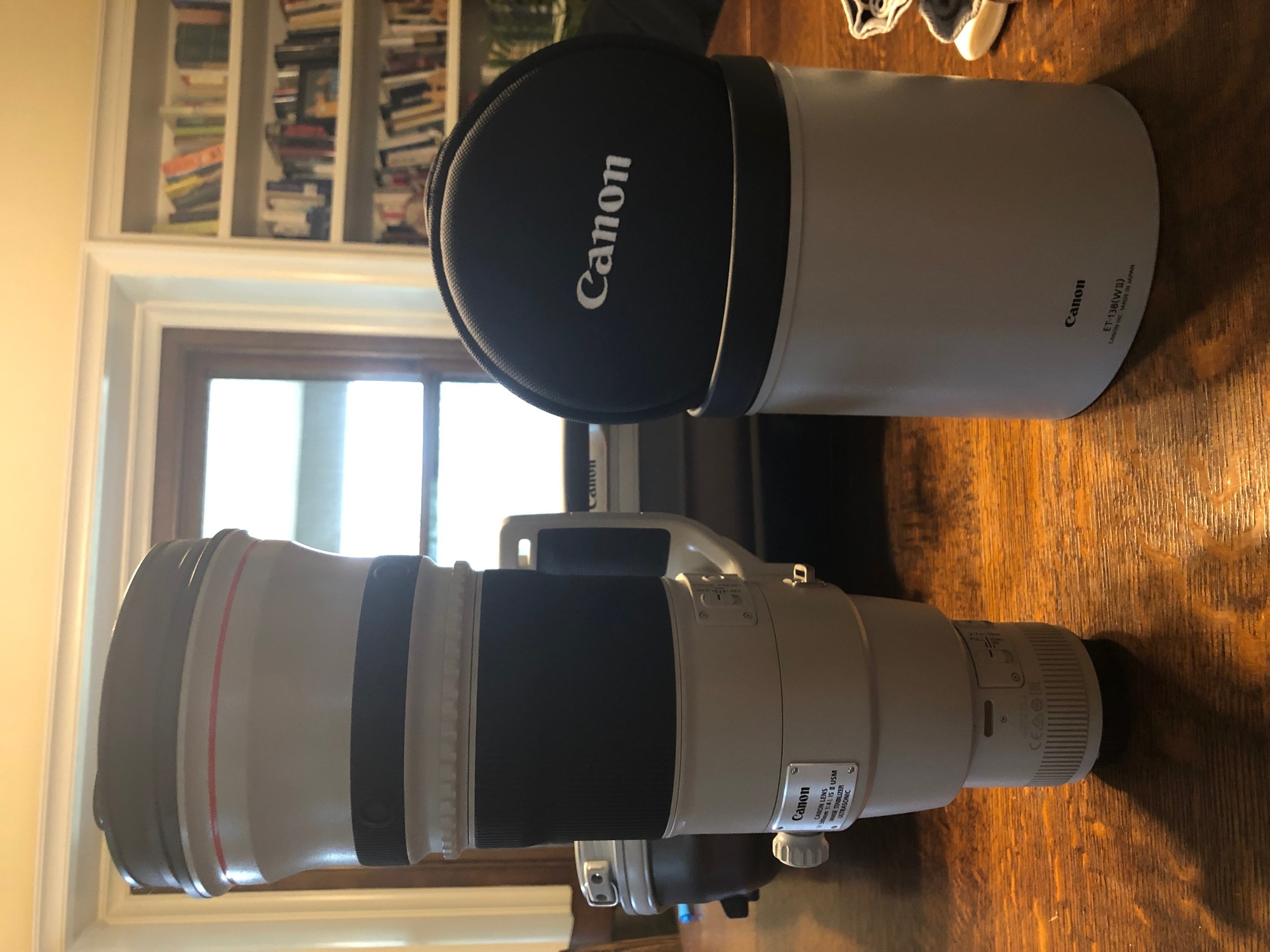 Don Zeck Lens Cap for Canon 500mm f//4.0 USM IS Lens