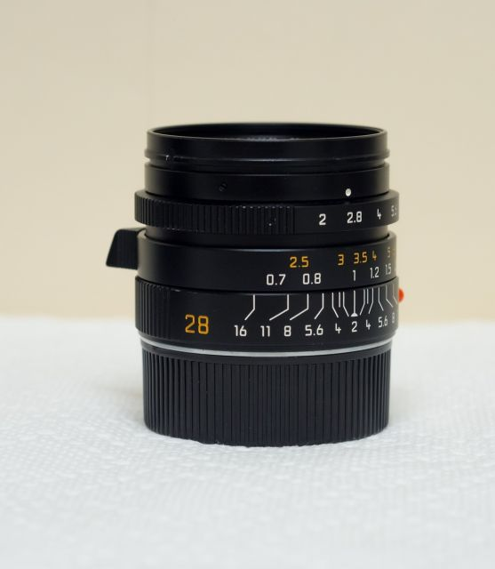 Withdrawn: Leica 28mm Summicron ASPH - 6-bit ($2600) & 24mm Elmarit