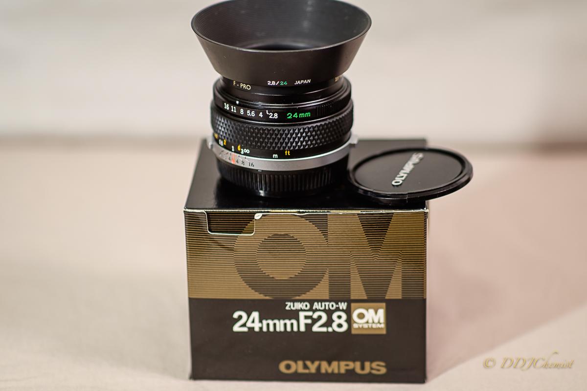 ORIGINAL OLYMPUS LENS HOOD FOR 28mm F2.8 LENS