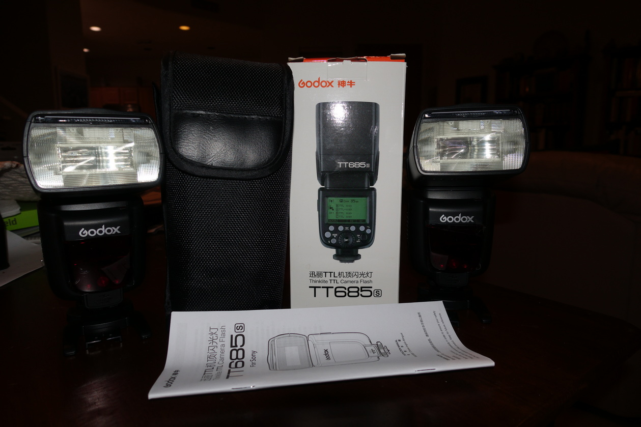 Sold Godox Ttl Hss Tt685s Flash High Speed 1 8000s Gn60 For Sony Untuk I Pay Usps Priority Shipping And Also Absorb The Paypal Fees So Consider That When You Look At Price