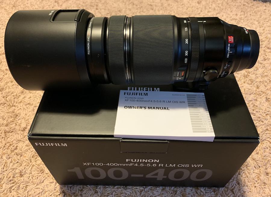 Sold: Fuji XF 100-400mm F4 5-5 6 R LM OIS WR - FM Forums