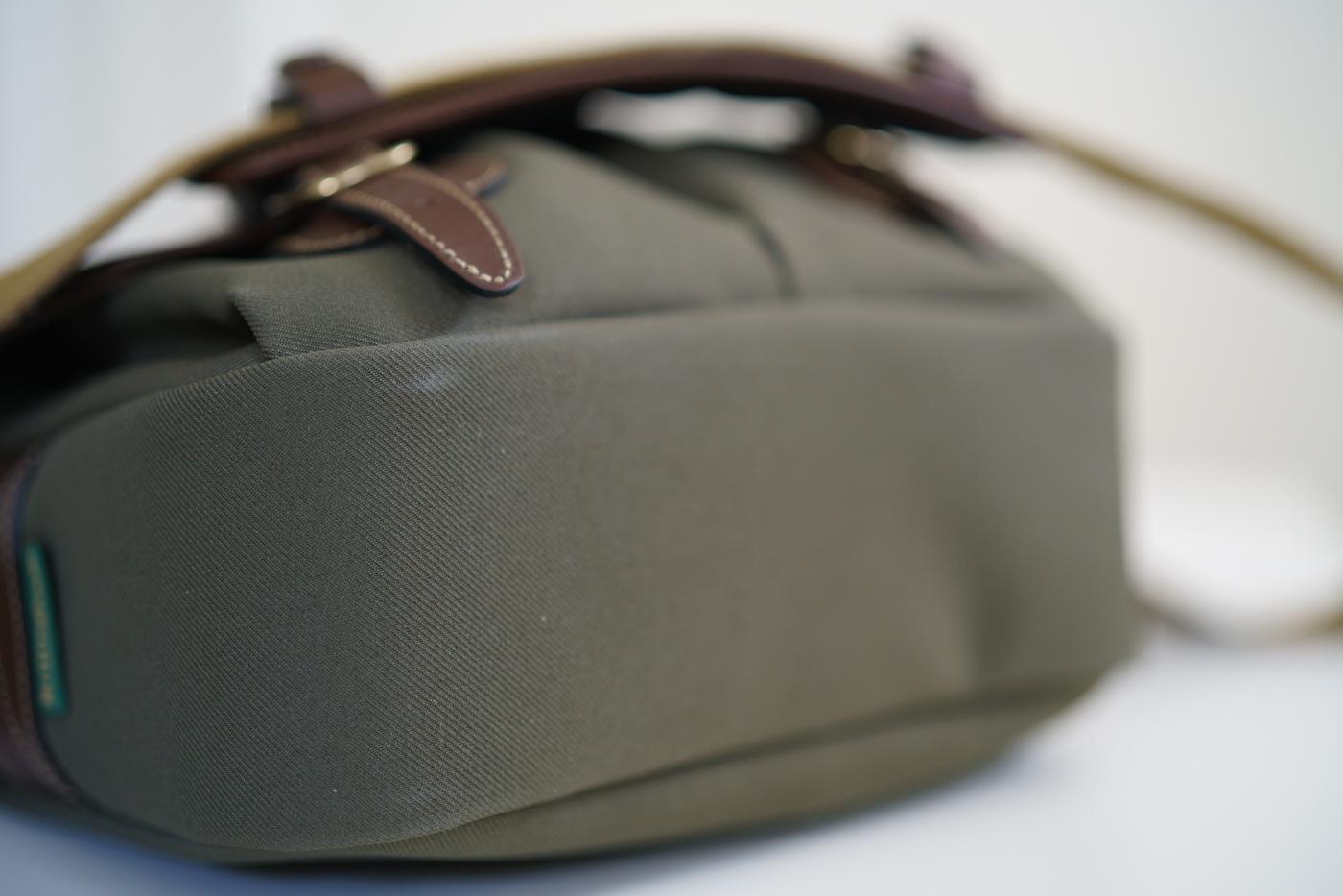 Sold Billingham Hadley Small Sage Sp40 Shoulder Pad 150 Fm Bag Choc Leather Trim Jan 07