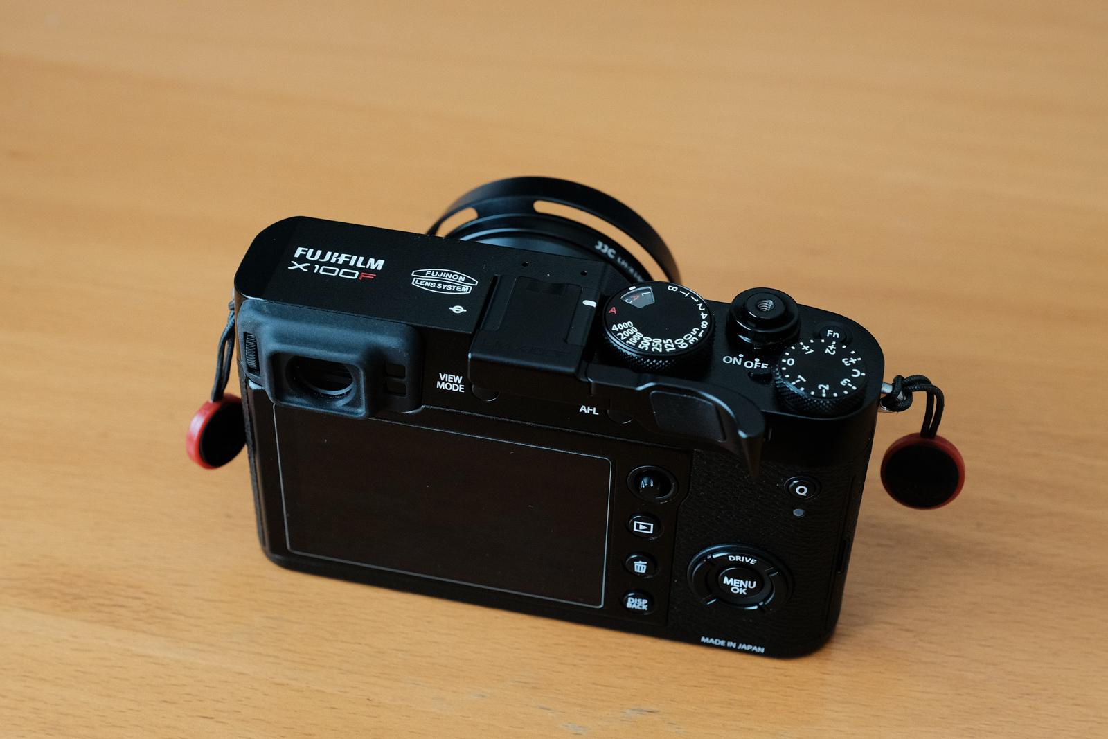 Sold: Fujifilm X100F, black, incredible condition, some