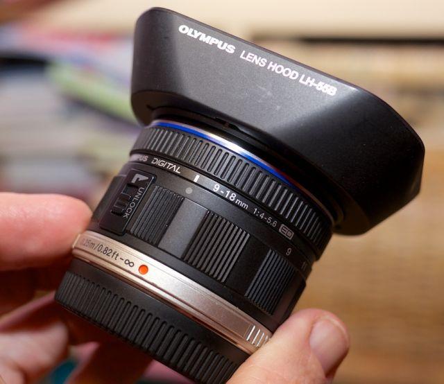 FS Olympus 9 18mm M4 3 Lens With Hood