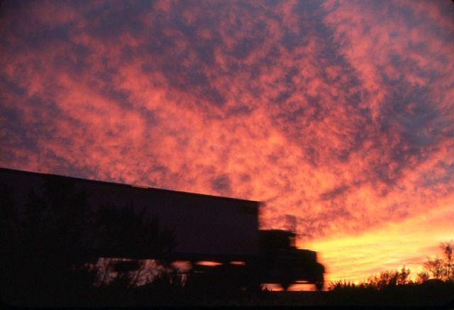 18-wheeler sunset- - FM Forums